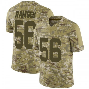 Youth Nike Green Bay Packers Randy Ramsey Camo 2018 Salute to Service Jersey - Limited