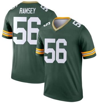 Youth Nike Green Bay Packers Randy Ramsey Green Jersey - Legend