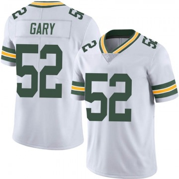 Youth Nike Green Bay Packers Rashan Gary White Vapor Untouchable Jersey - Limited