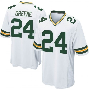Youth Nike Green Bay Packers Raven Greene White Jersey - Game