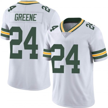 Youth Nike Green Bay Packers Raven Greene White Vapor Untouchable Jersey - Limited
