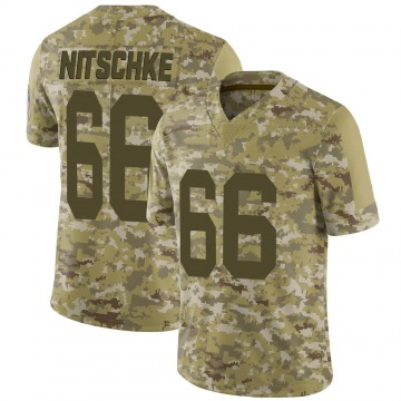 Youth Nike Green Bay Packers Ray Nitschke Camo 2018 Salute to Service Jersey - Limited