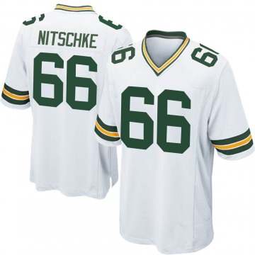 Youth Nike Green Bay Packers Ray Nitschke White Jersey - Game