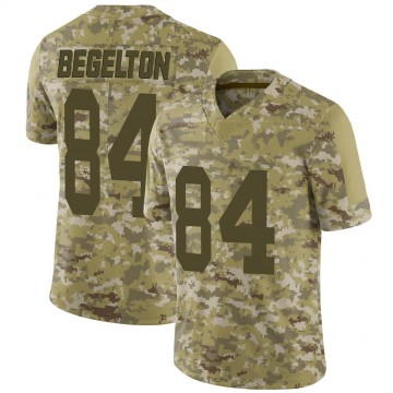 Youth Nike Green Bay Packers Reggie Begelton Camo 2018 Salute to Service Jersey - Limited