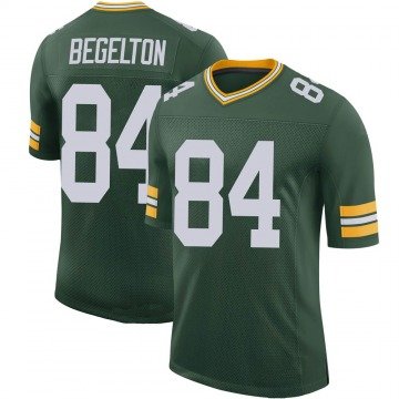 Youth Nike Green Bay Packers Reggie Begelton Green 100th Vapor Jersey - Limited