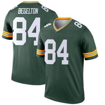 Youth Nike Green Bay Packers Reggie Begelton Green Jersey - Legend
