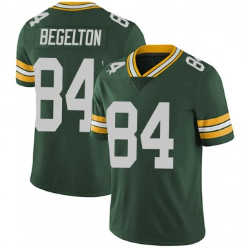 Youth Nike Green Bay Packers Reggie Begelton Green Team Color Vapor Untouchable Jersey - Limited