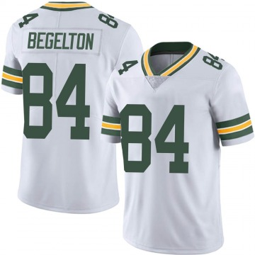 Youth Nike Green Bay Packers Reggie Begelton White Vapor Untouchable Jersey - Limited