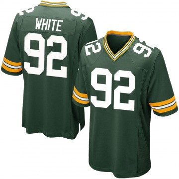 Youth Nike Green Bay Packers Reggie White Green Team Color Jersey - Game