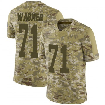 Youth Nike Green Bay Packers Rick Wagner Camo 2018 Salute to Service Jersey - Limited