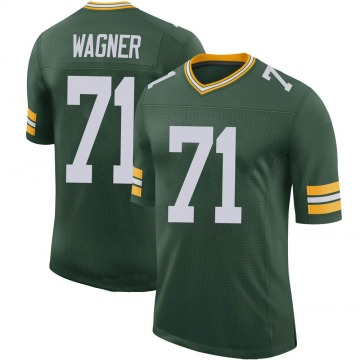 Youth Nike Green Bay Packers Rick Wagner Green 100th Vapor Jersey - Limited