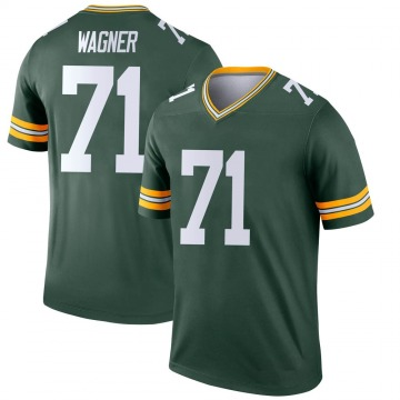 Youth Nike Green Bay Packers Rick Wagner Green Jersey - Legend
