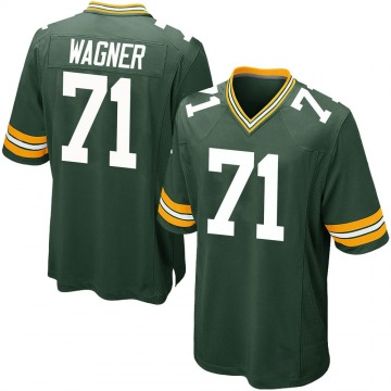 Youth Nike Green Bay Packers Rick Wagner Green Team Color Jersey - Game