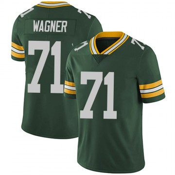 Youth Nike Green Bay Packers Rick Wagner Green Team Color Vapor Untouchable Jersey - Limited