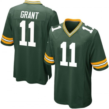 Youth Nike Green Bay Packers Ryan Grant Green Team Color Jersey - Game