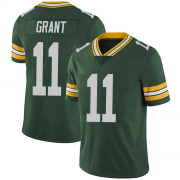 Youth Nike Green Bay Packers Ryan Grant Green Team Color Vapor Untouchable Jersey - Limited