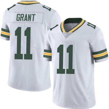 Youth Nike Green Bay Packers Ryan Grant White Vapor Untouchable Jersey - Limited