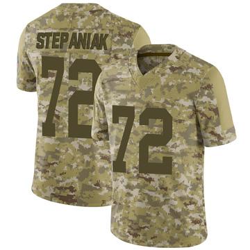 Youth Nike Green Bay Packers Simon Stepaniak Camo 2018 Salute to Service Jersey - Limited