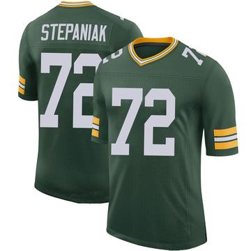 Youth Nike Green Bay Packers Simon Stepaniak Green 100th Vapor Jersey - Limited
