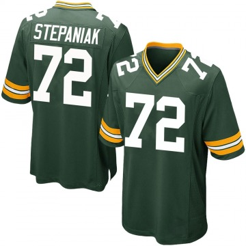 Youth Nike Green Bay Packers Simon Stepaniak Green Team Color Jersey - Game