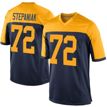Youth Nike Green Bay Packers Simon Stepaniak Navy Alternate Jersey - Game
