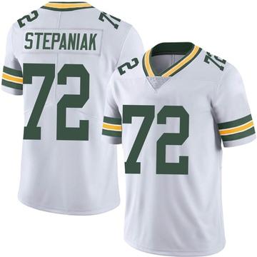 Youth Nike Green Bay Packers Simon Stepaniak White Vapor Untouchable Jersey - Limited