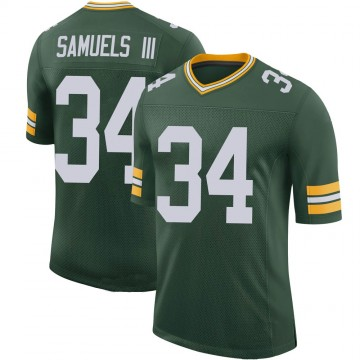Youth Nike Green Bay Packers Stanford Samuels III Green 100th Vapor Jersey - Limited