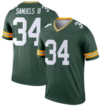 Youth Nike Green Bay Packers Stanford Samuels III Green Jersey - Legend