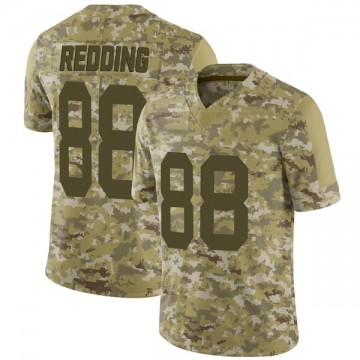 Youth Nike Green Bay Packers Teo Redding Red Camo 2018 Salute to Service Jersey - Limited