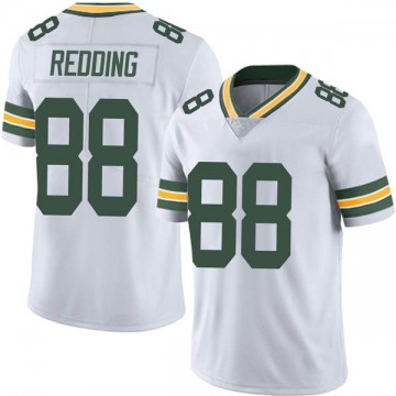 Youth Nike Green Bay Packers Teo Redding White Vapor Untouchable Jersey - Limited