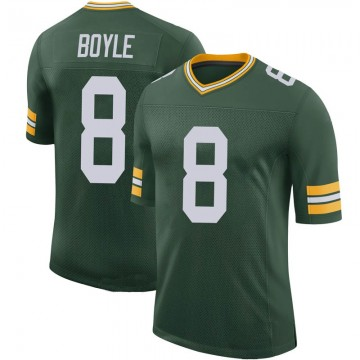 Youth Nike Green Bay Packers Tim Boyle Green 100th Vapor Jersey - Limited