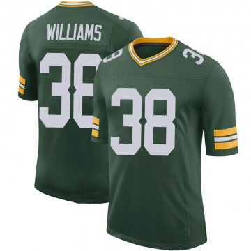 Youth Nike Green Bay Packers Tramon Williams Green 100th Vapor Jersey - Limited