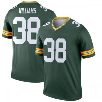 Youth Nike Green Bay Packers Tramon Williams Green Jersey - Legend