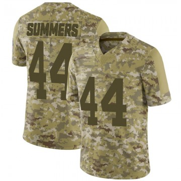 Youth Nike Green Bay Packers Ty Summers Camo 2018 Salute to Service Jersey - Limited