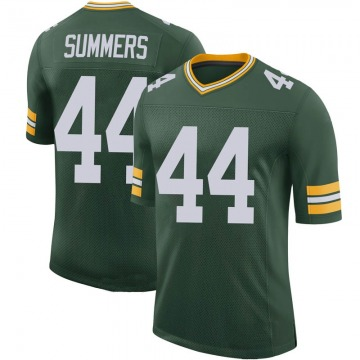 Youth Nike Green Bay Packers Ty Summers Green 100th Vapor Jersey - Limited