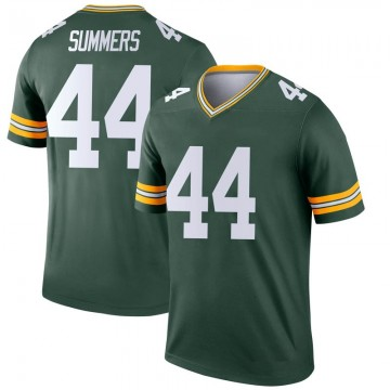 Youth Nike Green Bay Packers Ty Summers Green Jersey - Legend
