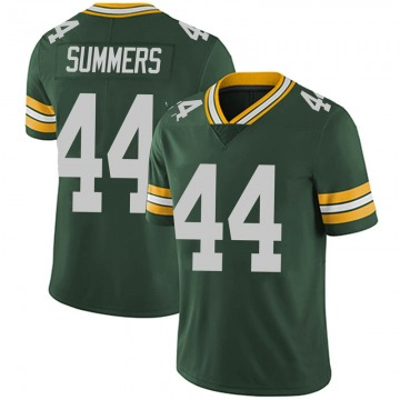 Youth Nike Green Bay Packers Ty Summers Green Team Color Vapor Untouchable Jersey - Limited
