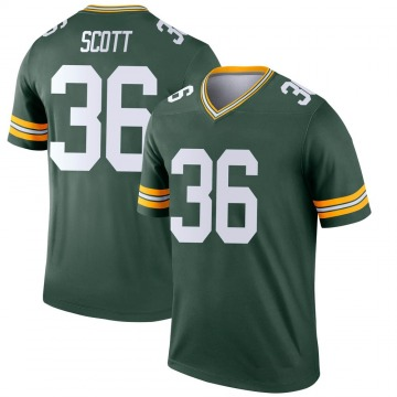 Youth Nike Green Bay Packers Vernon Scott Green Jersey - Legend