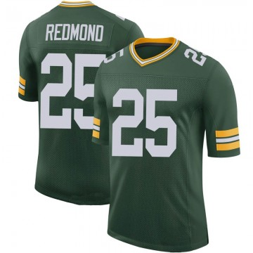 Youth Nike Green Bay Packers Will Redmond Green 100th Vapor Jersey - Limited