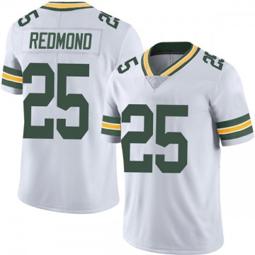 Youth Nike Green Bay Packers Will Redmond White Vapor Untouchable Jersey - Limited