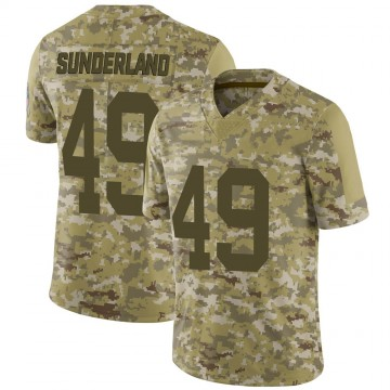 Youth Nike Green Bay Packers Will Sunderland Camo 2018 Salute to Service Jersey - Limited