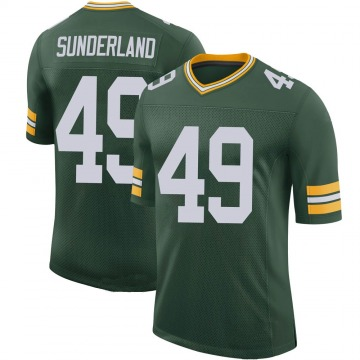 Youth Nike Green Bay Packers Will Sunderland Green 100th Vapor Jersey - Limited