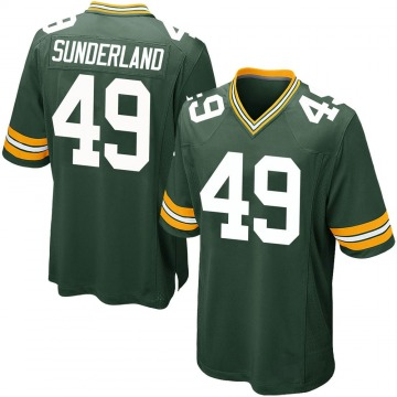 Youth Nike Green Bay Packers Will Sunderland Green Team Color Jersey - Game