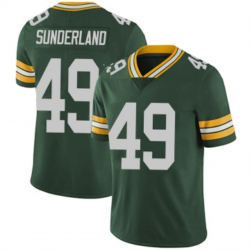 Youth Nike Green Bay Packers Will Sunderland Green Team Color Vapor Untouchable Jersey - Limited