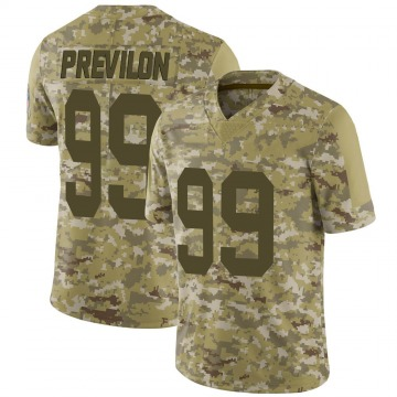 Youth Nike Green Bay Packers Willington Previlon Camo 2018 Salute to Service Jersey - Limited