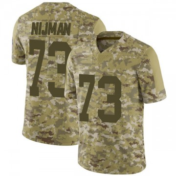 Youth Nike Green Bay Packers Yosh Nijman Camo 2018 Salute to Service Jersey - Limited