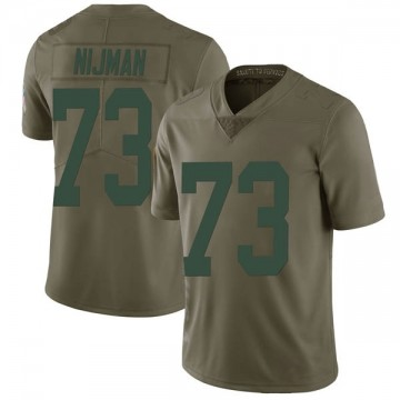Youth Nike Green Bay Packers Yosh Nijman Green 2017 Salute to Service Jersey - Limited