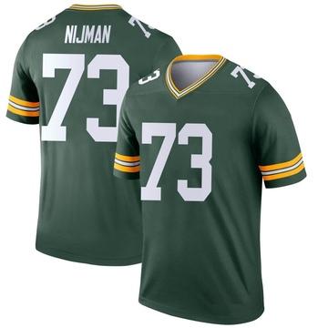 Youth Nike Green Bay Packers Yosh Nijman Green Jersey - Legend
