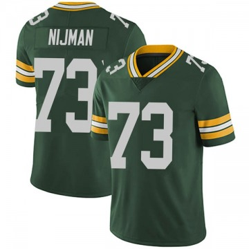 Youth Nike Green Bay Packers Yosh Nijman Green Team Color Vapor Untouchable Jersey - Limited