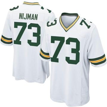 Youth Nike Green Bay Packers Yosh Nijman White Jersey - Game